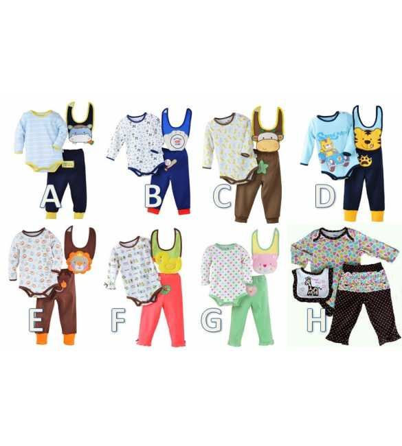 Set Baby Jumper 3in1