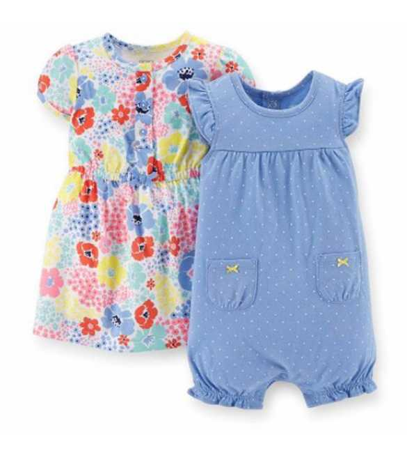 Baby Girl Set 2in1 Colourful Flower