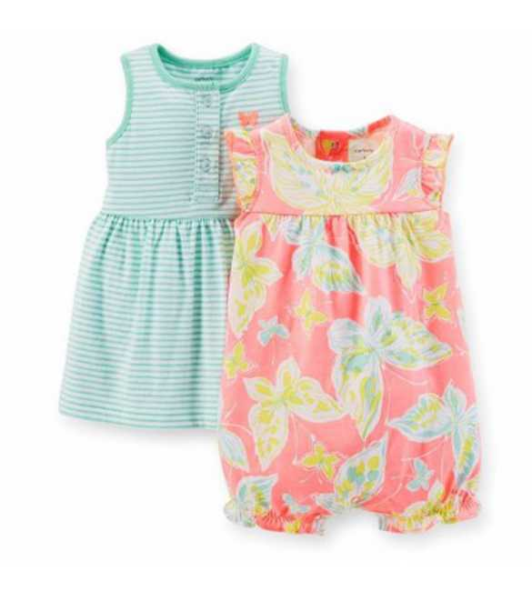 Baby Girl Set 2in1 Print Butterfly