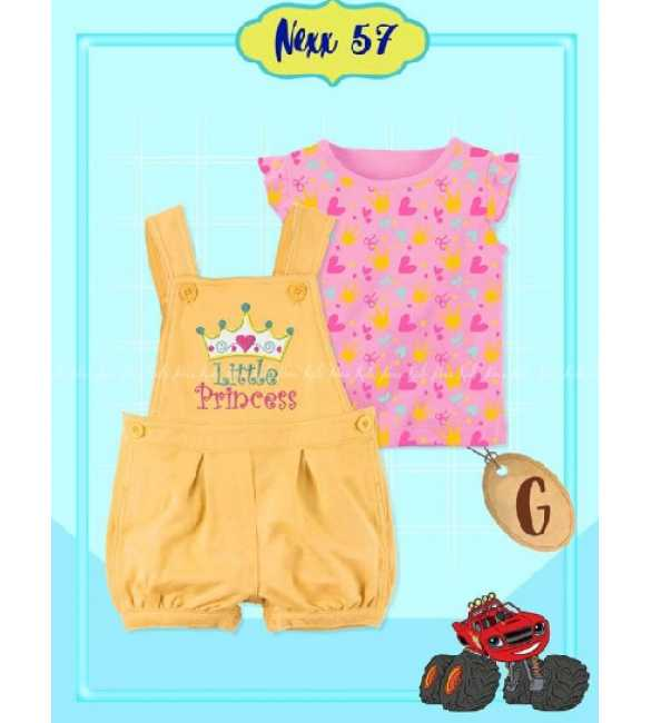 Set Overall anak Bayi Nexx 57 G Little Princess