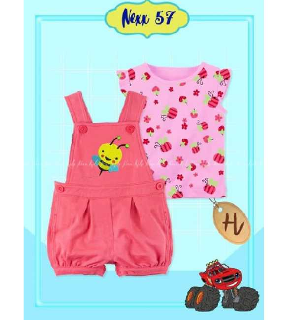 Set Overall anak Bayi Nexx 57 H Little Bee