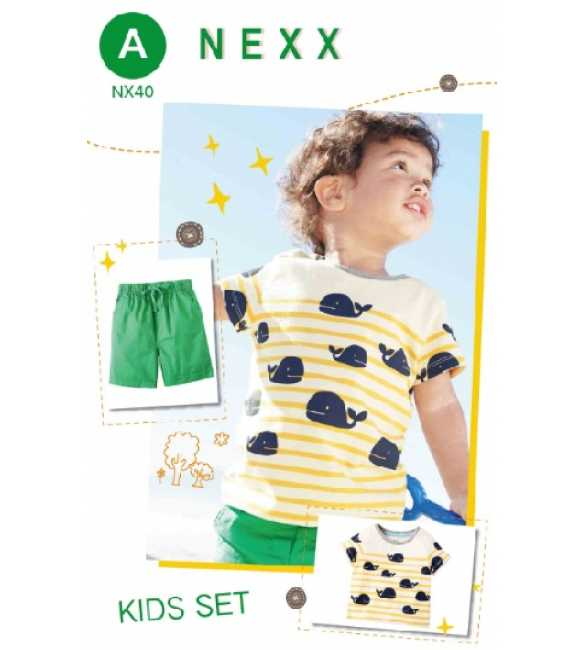 Boyset Casual Nexx Kids 40 A Whales