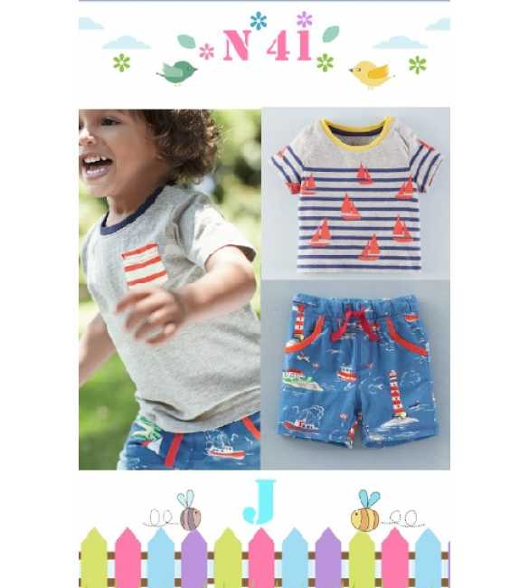 Boyset Casual Nexx Kids 41 J Gray Ship