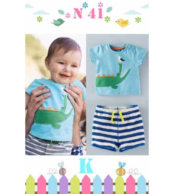 Boyset Casual Nexx Kids 41 K Crocodile