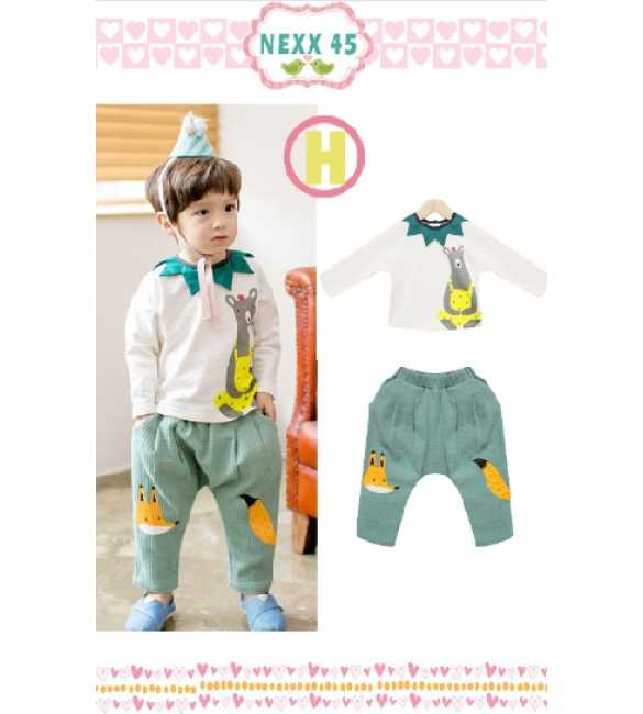 Boyset Nexx Kids 45 H Bear n Fox