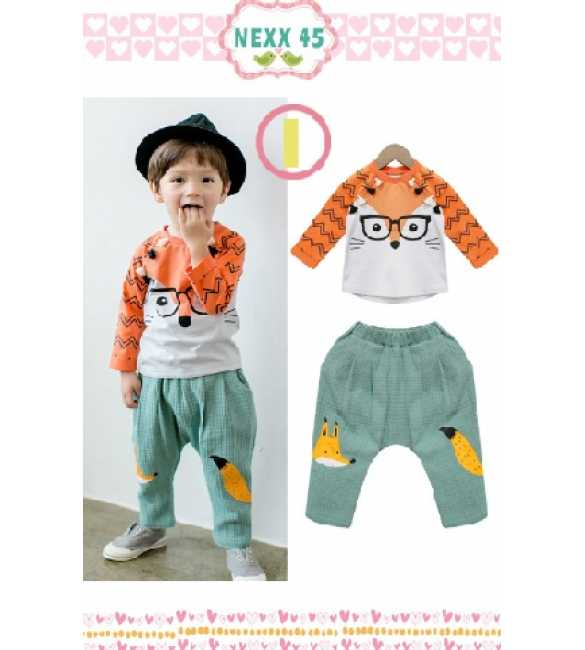 Boyset Nexx Kids 45 I Fox Orange