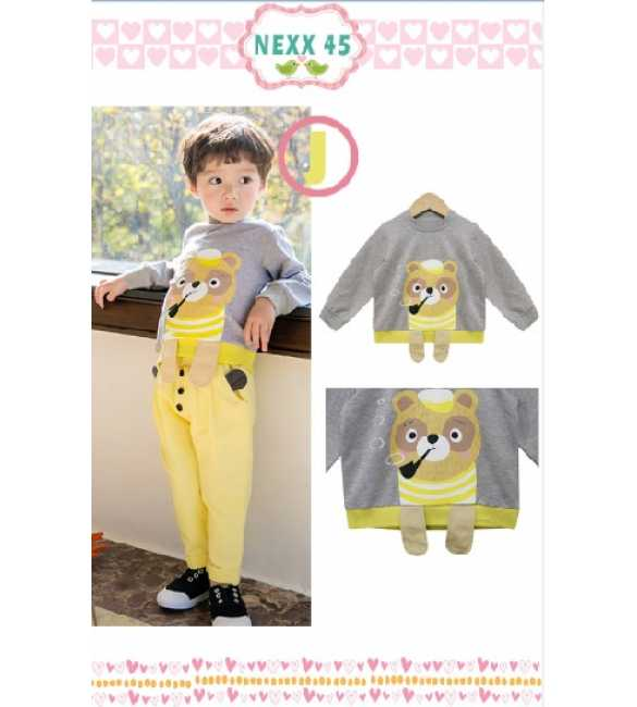 Boyset Nexx Kids 45 J Dog Yellow Pants