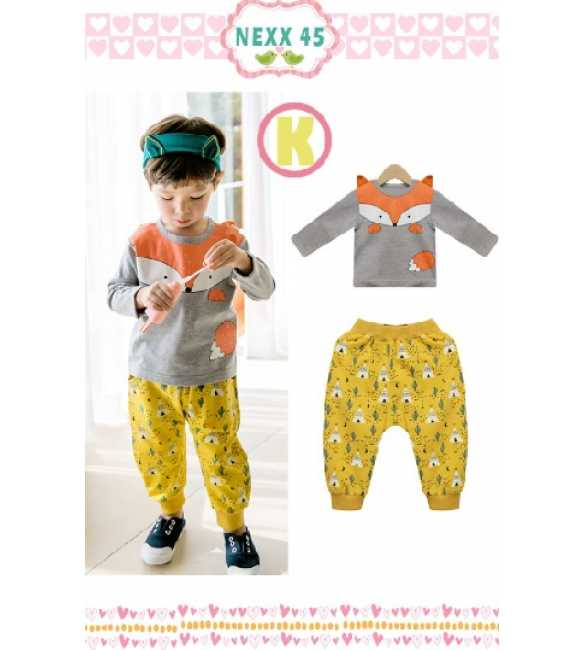 Boyset Nexx Kids 45 K Fox Yellow Pant