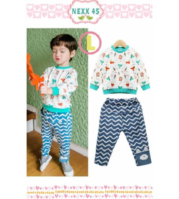 Boyset Nexx Kids 45 L Bear Zigzag Pants
