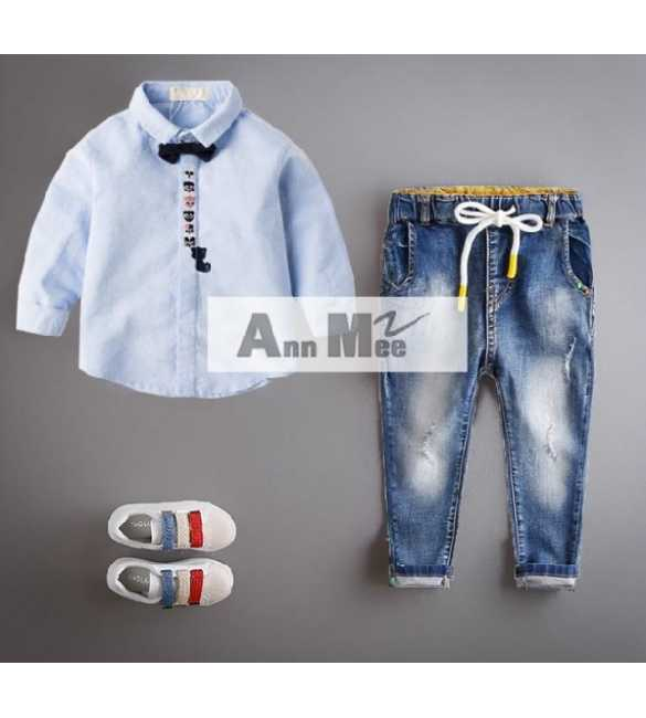 Set Ann Mee Shirt Baby Miaw (BIG SIZE)