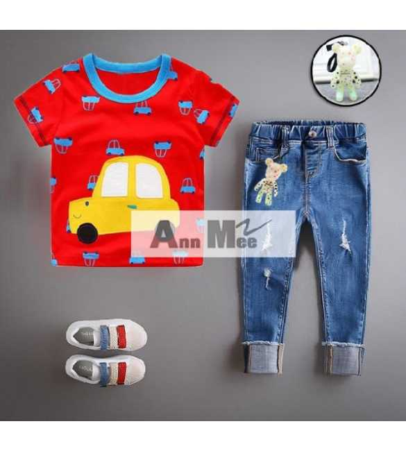 Set Ann Mee Shirt Printing Cars (BIG SIZE)