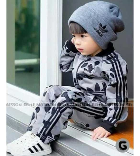 Set Belle Maison 3in1 Sporty Gray (BIG SIZE)