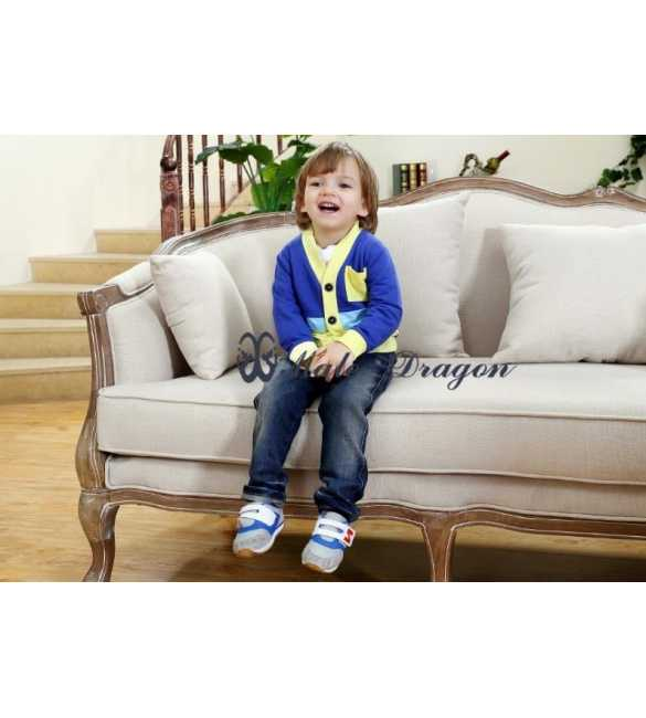 Setelan Male Dragon 3in1 Cardigan Blue