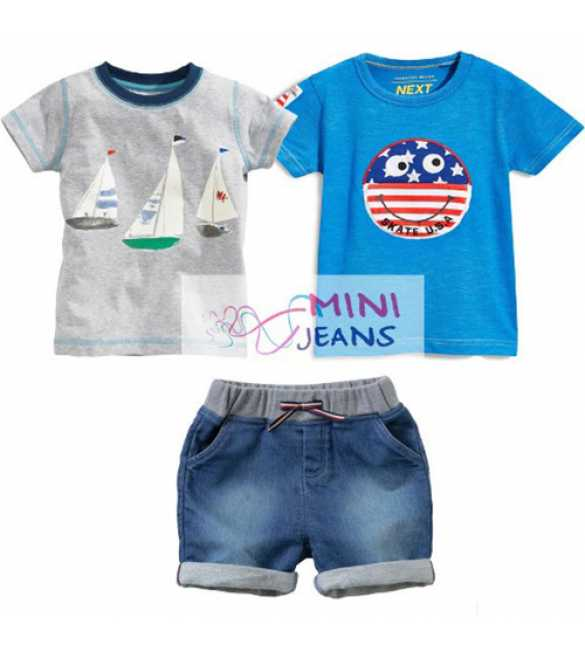 Set Mini Jeans 3in1 Skate USA