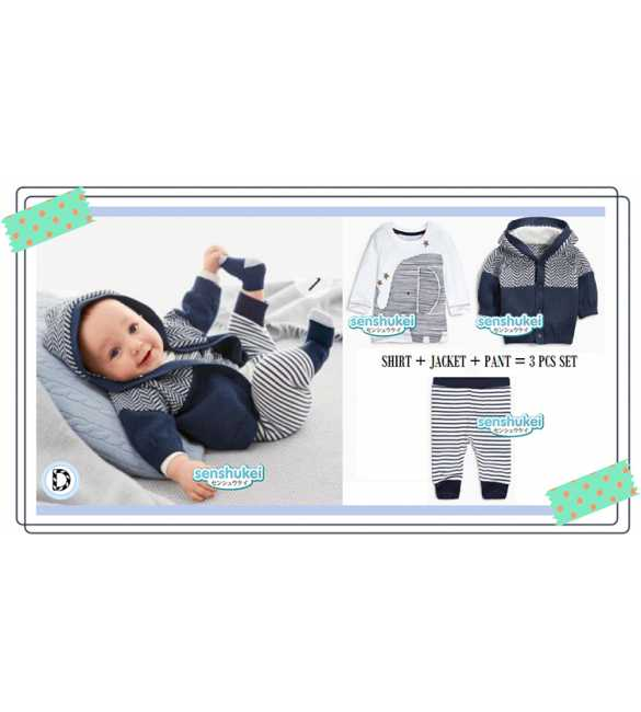 Set Senshukei 3in1 Hoodie Elephant (BIG SIZE)