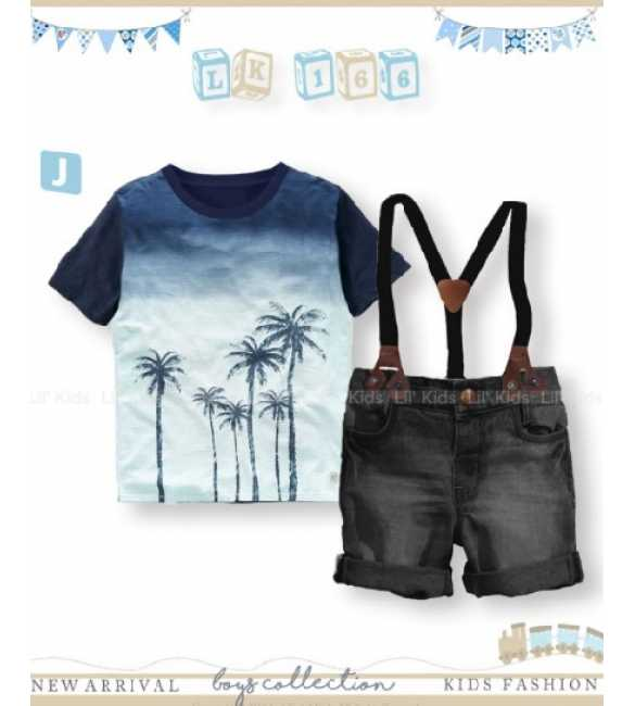 Setelan Anak Lil Kids 166 J Coconut Tree (BIG SIZE)