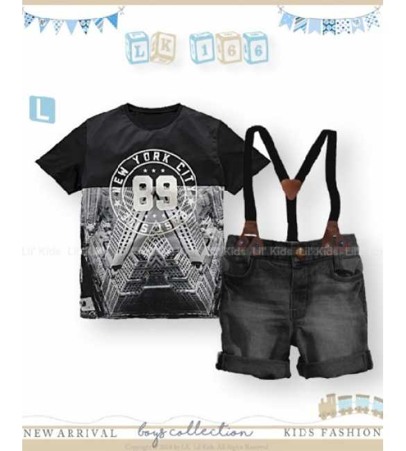 Setelan Anak Lil Kids 166 L New York City (BIG SIZE)