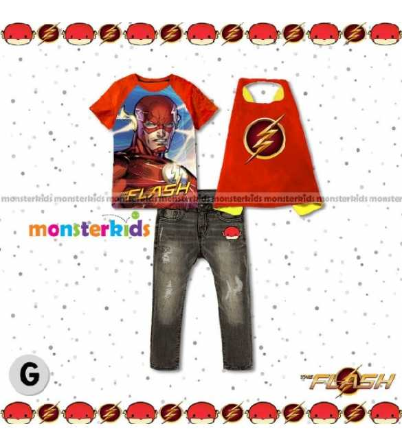 Setelan Anak Monster Kids MK 7G The Flash