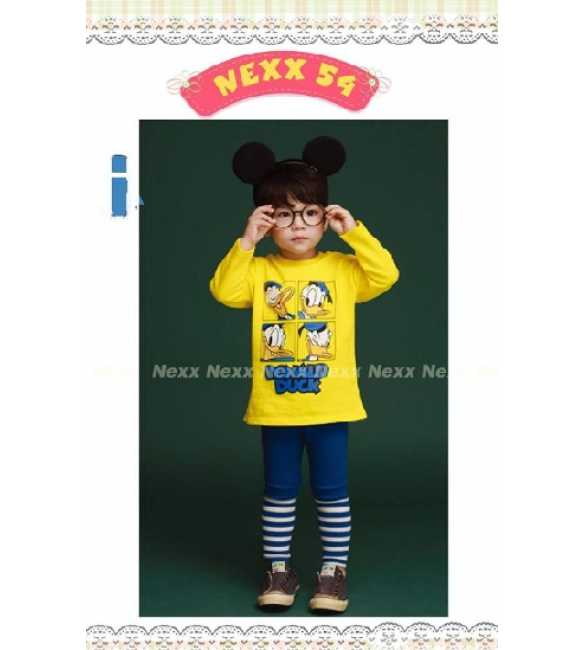 Setelan anak Nexx 54 I Donald Duck Yellow