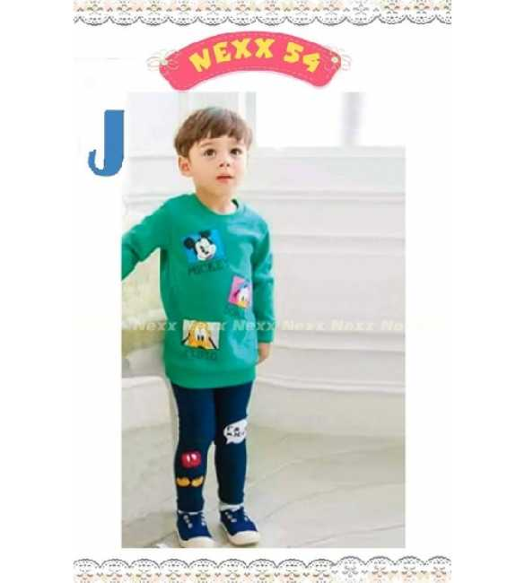 Setelan anak Nexx 54 J Mickey n Friends green