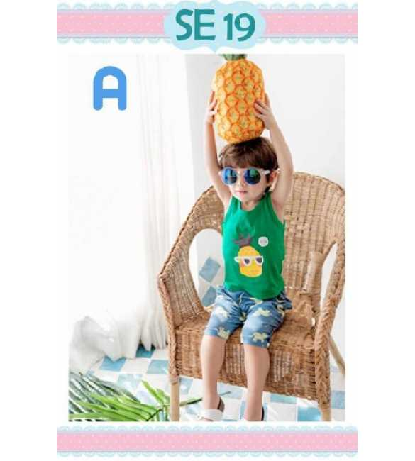 Setelan anak Special Edition SE 19 A Cool Pineapple