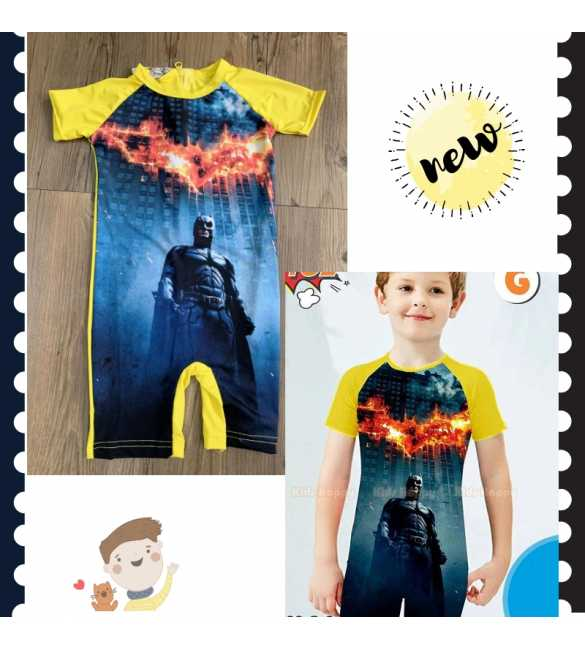 Baju renang swimsuit Kids Happy KH 102 G Batman