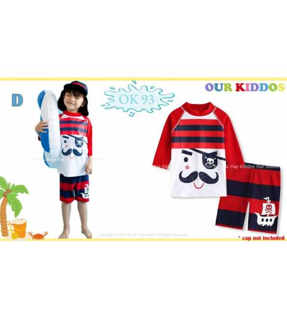 Setelan baju renang anak Our Kiddos OK 93 D Pirates (BIG SIZE)