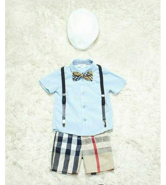 Setelan Burberry Boy 5in1