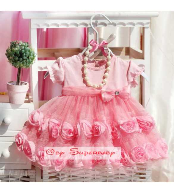 Dress HM Flower Pink