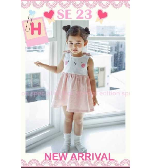 Dress Anak Special Edition SE 23 H Bunny Pink