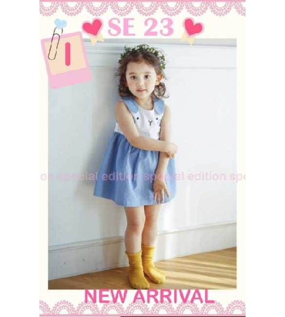 Dress Anak Special Edition SE 23 I Bunny Blue