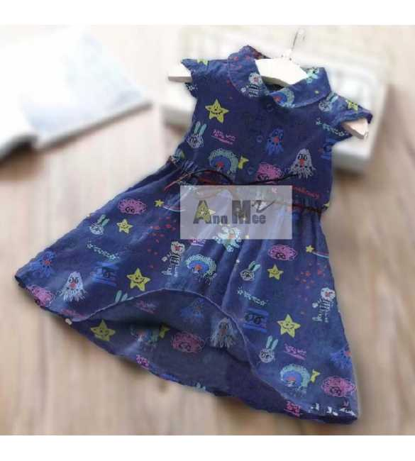 Dress Ann Mee Denim Stars