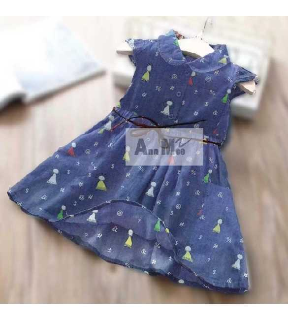 Dress Ann Mee Denim Symbol