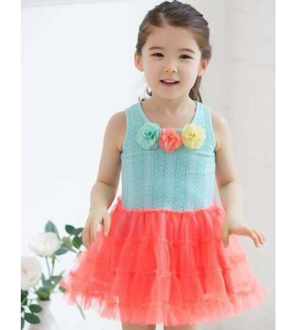 Dress tutu Swallow Speak Blue