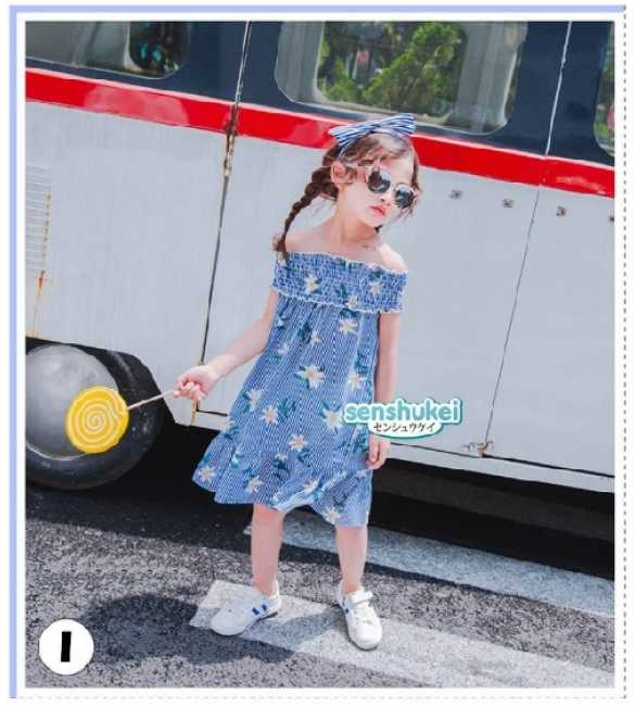 SENS 22 I Set Dress Senshukei 22 Sabrina Flower Blue (MED SIZE)