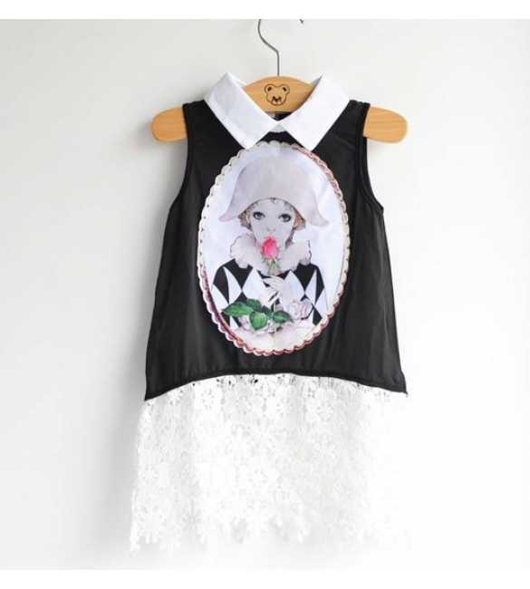 Dress anak Lady in Black