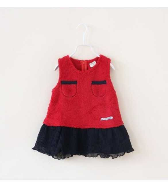 Dress Anak Lovely Baby Red