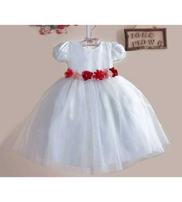 Dress Zoe Bride White