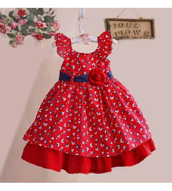 Dress Zoe Sail Red