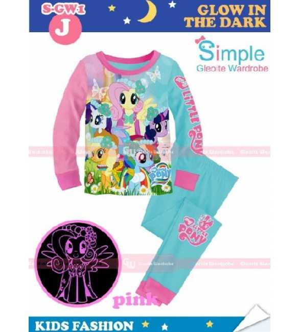 Piyama Anak S-GW 1J Little Pony (BIG SIZE)