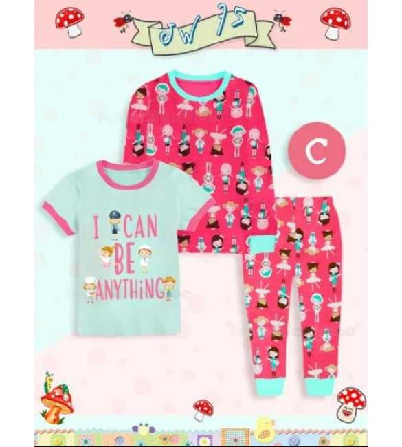 Piyama anak Junior Wardrobe JW 75 C 3in1 Can be Anything (MED SIZE)