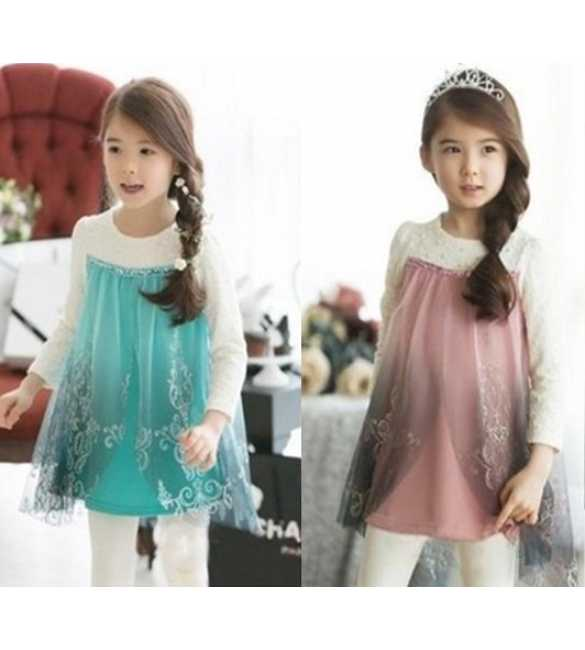 Dress Frozen plus Legging