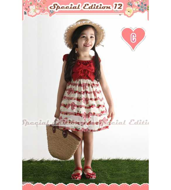GW SE 12 Red Ribbon Dress