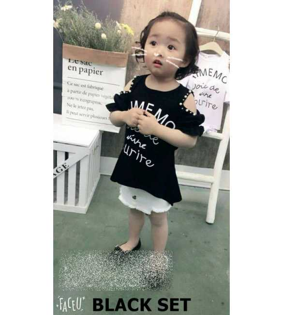 Girl Set Aimemo Black