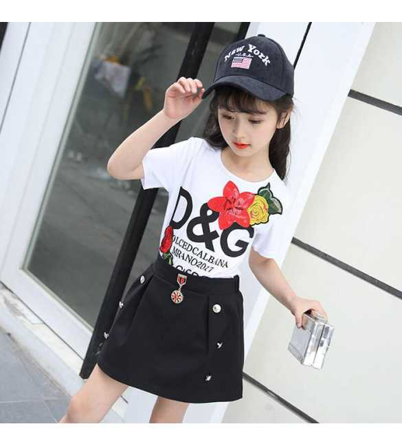 Girl Set DG Black