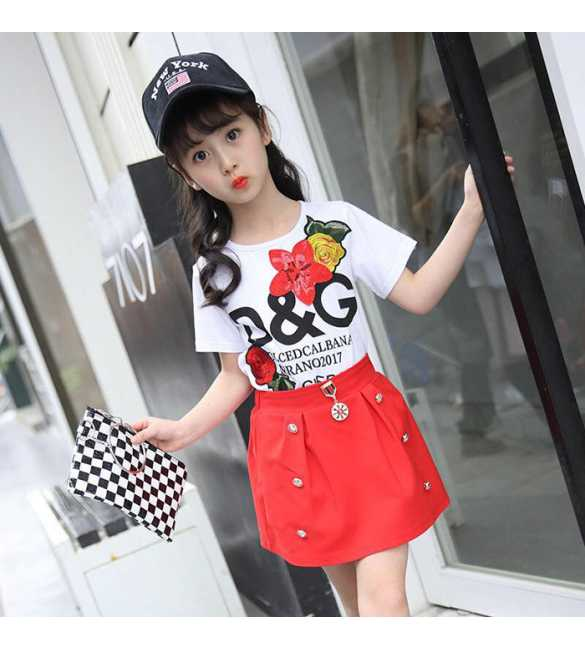 Girl Set DG Red