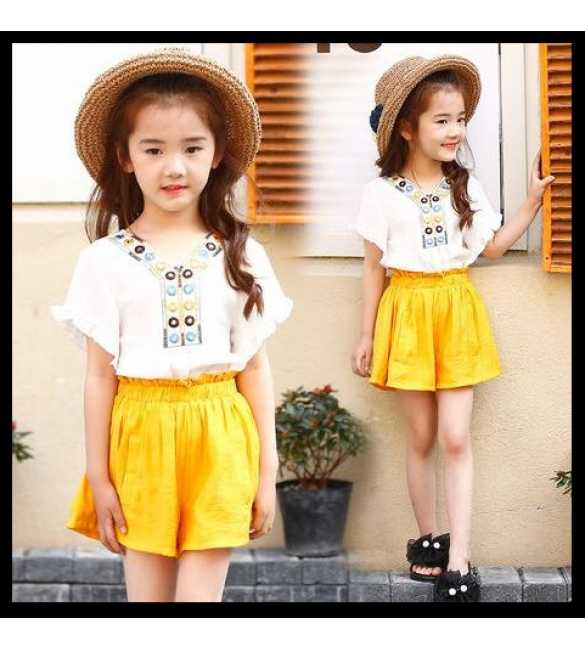 Girl Set Raisa Yellow