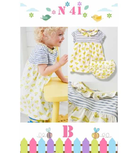 GirlSet Casual NEXX Kids 41 B Yellow Duck