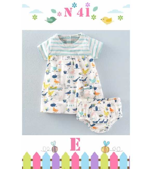 GirlSet Casual NEXX Kids 41 E Printed Animal