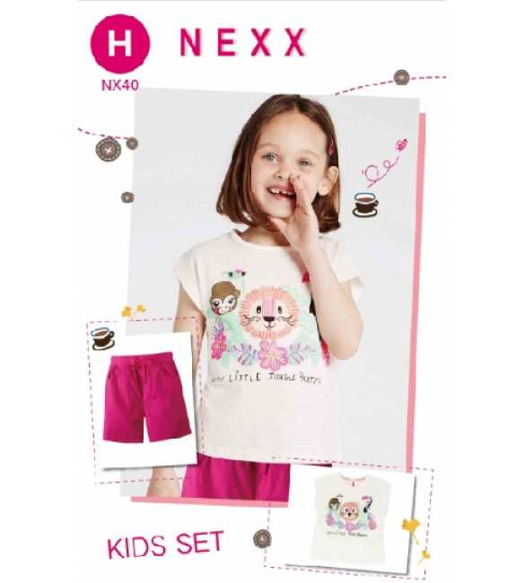 Girlset Casual Nexx Kids 40 H Little Jungle Party